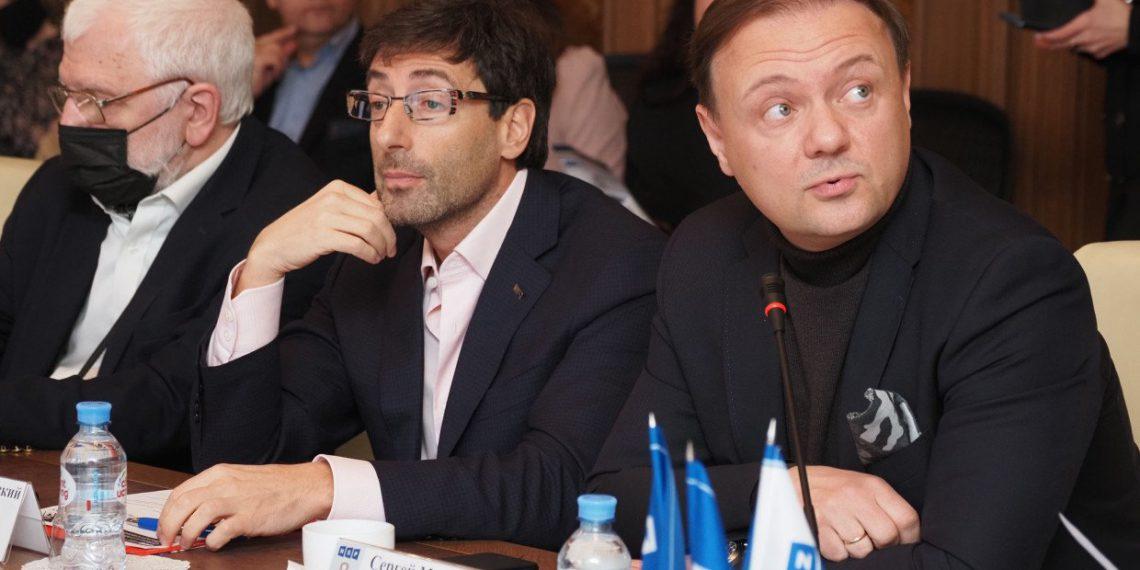 Сергей Макаров (КГИОП) , Эдуард Тиктинский (RBI)