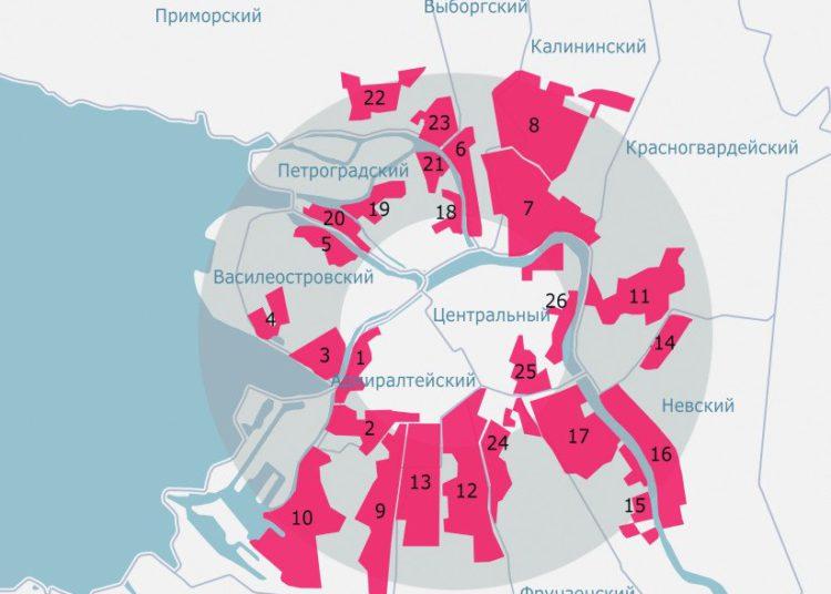 Промышленные зоны Петербурга. (c) Peterland