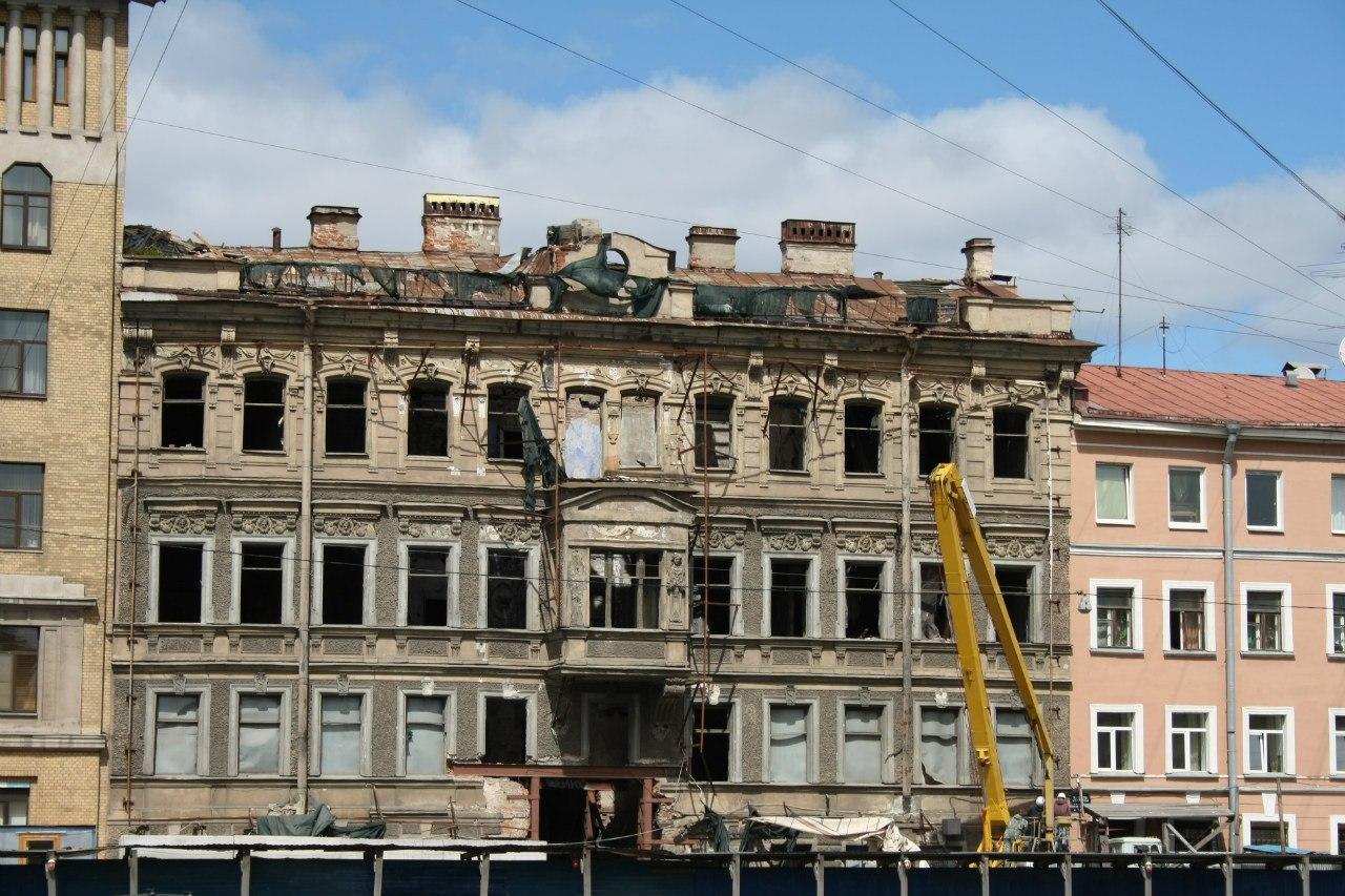 Фонтанка, 145, дом Зыкова. Общий вид.