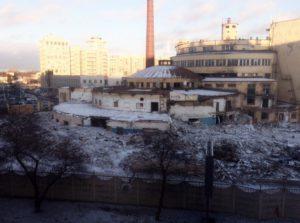 Левашовский хлебозавод до реконструкции