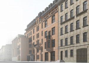 Дом Басевича - фасад / проект реконструкции